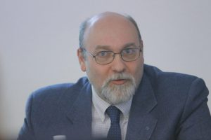 Il presidente Luigi Grechi